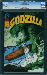 Godzilla #1 (Dark Horse, 1988) CGC NM- 9.2 White pages
