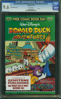 Donald Duck Adventures-Free Comic Book Day nn (Gemstone, 2003) CGC NM+ 9.6 White pages