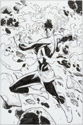 Original Comic Art:Splash Pages, Patrick Olliffe and Drew Geraci Captain Marvel #15 SplashPage Original Art (Marvel, 2013)....