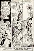 Original Comic Art:Panel Pages, Carmine Infantino and Frank McLaughlin The Flash #339 Story Page 23 Original Art Panel Page (DC, 1984)....