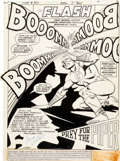 Original Comic Art:Splash Pages, Carmine Infantino and Bob Smith The Flash #307 Splash PageOriginal Art (DC, 1982)....