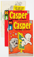 Silver Age (1956-1969):Humor, Friendly Ghost Casper File Copies Box Lot (Harvey, 1967-81) Condition: Average NM-....