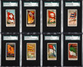 "Non-Sport Cards:Sets, 1887/1888 N9 & N10 Allen & Ginter ""Flags of All Nations""Sets (2). ..."