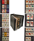 "Non-Sport Cards:Sets, 1910's ""S"" and ""SC"" Tobacco Silks Extensive Collection (1,000+)With Complete & Near Sets. ..."