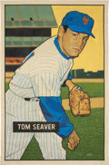 "Baseball Collectibles:Others, 2016 Tom Seaver 1951 Bowman ""Card That Never Was"" Original Artworkby Arthur Miller. ..."
