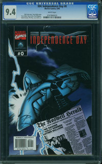 Independence Day #0 (Marvel, 1996) CGC NM 9.4 White pages