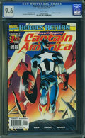 Modern Age (1980-Present):Superhero, Captain America (Volume 3) #1 (Marvel, 1998) CGC NM+ 9.6 White pages.