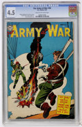 Golden Age (1938-1955):War, Our Army at War #26 (DC, 1954) CGC VG+ 4.5 Cream to off-whitepages....
