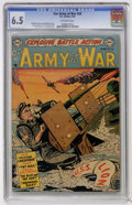 Golden Age (1938-1955):War, Our Army at War #20 (DC, 1954) CGC FN+ 6.5 Off-white pages....