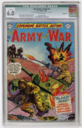 Golden Age (1938-1955):War, Our Army at War #4 (DC, 1952) CGC Qualified FN 6.0 Off-whitepages....