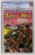 Golden Age (1938-1955):War, Our Army at War #3 (DC, 1952) CGC FN 6.0 White pages....