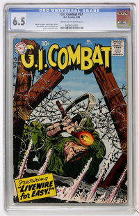G.I. Combat #57 (DC, 1958) CGC FN+ 6.5 Cream to off-white pages