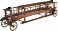 Antiques:Toys, Late 19th-Century Horse Drawn Hook and Ladder Fire Wagon....