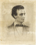 Political:Posters & Broadsides (pre-1896), Abraham Lincoln: Huge 1860 Republican Candidate for President Poster....