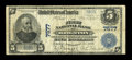 National Bank Notes:Colorado, Brighton, CO - $5 1902 Plain Back Fr. 598 The First NB Ch. # 7577....
