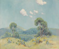 Texas:Early Texas Art - Impressionists, DAWSON DAWSON-WATSON (1864-1939). Untitled Landscape, 1938.Oil on canvas. 25 x 30 inches (63.5 x 76.2 cm). Signed and d...