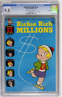Richie Rich Millions #8 File Copy (Harvey, 1964) CGC NM/MT 9.8 Off-white to white pages
