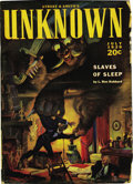 Pulps:Horror, Unknown Group (Street & Smith, 1939-43) Condition: AverageVG....