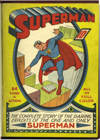 Superman #1-12 Bound Volume (DC, 1939-41)