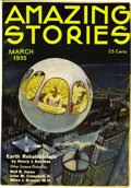 Pulps:Science Fiction, Amazing Stories Group (Ziff-Davis, 1935-58) Condition: AverageVG....