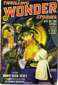 Pulps:Science Fiction, Thrilling Wonder Stories Group (Beacon, 1940-55) Condition: Average VG....