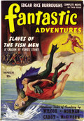 Pulps:Science Fiction, Fantastic Adventures Group (Ziff-Davis, 1941-50) Condition: Average VG/FN....