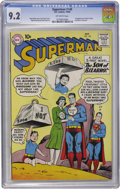 Silver Age (1956-1969):Superhero, Superman #140 (DC, 1960) CGC NM- 9.2 Off-white pages....