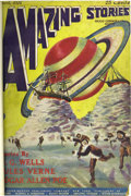 Pulps:Science Fiction, Amazing Stories Bound Volumes Group (Ziff-Davis, 1926-50)....