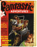 Pulps:Science Fiction, Fantastic Adventures Bound Volumes Group (Ziff-Davis, 1939-50)....