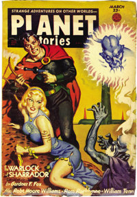 Planet Stories Box Lot (Fiction House, 1939-55) Condition: Average FN