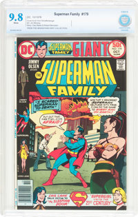 The Superman Family #179 (DC, 1976) CBCS NM/MT 9.8 White pages