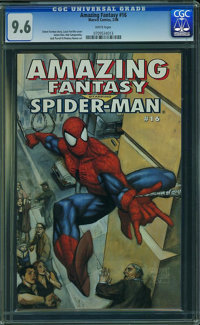Amazing Fantasy #16 (Marvel, 1995) CGC NM+ 9.6 White pages