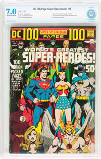 DC 100-Page Super Spectacular #6 (DC, 1971) CBCS FN/VF 7.0 Off-white to white pages