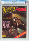 Magazines:Horror, Web of Horror #1 (Major Magazines, 1969) CGC NM 9.4 White pages....