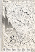 Original Comic Art:Splash Pages, Todd McFarlane and Jim Sanders III Incredible Hulk #337Splash Page 2 Original Art (Marvel, 1987)....