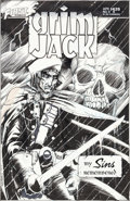 Original Comic Art:Covers, Timothy Truman Grimjack #9 Cover Original Art (First,1985)....