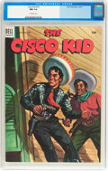 Golden Age (1938-1955):Western, The Cisco Kid #19 (Dell, 1954) CGC NM 9.4 Off-white pages....