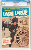 Golden Age (1938-1955):Western, Lash LaRue Western #15 Crowley Copy Pedigree (Fawcett Publications, 1951) CGC NM+ 9.6 Off-white pages....