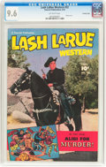 Golden Age (1938-1955):Western, Lash LaRue Western #32 Crowley Copy Pedigree (Fawcett Publications, 1952) CGC NM+ 9.6 Off-white pages....
