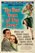 "Movie Posters:Drama, The Best Years of Our Lives (RKO, 1946). One Sheet (27"" X 41"") Style B.. ..."