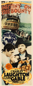 "Movie Posters:Academy Award Winners, Mutiny on the Bounty (MGM, 1935). Insert (14"" X 36"").. ..."