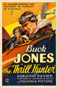 "Movie Posters:Adventure, The Thrill Hunter (Columbia, 1933). One Sheet (27"" X 41"").. ..."