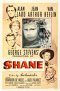 "Movie Posters:Western, Shane (Paramount, 1953). One Sheet (27"" X 41"") Ercole BriniArtwork.. ..."