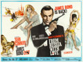 "Movie Posters:James Bond, From Russia with Love (United Artists, 1964). British Quad (30"" X40"") Renato Fratini and Eric Pulford Artwork.. ..."