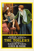 "Movie Posters:Drama, The Toilers (Lubin, 1916). One Sheet (28"" X 42"").. ..."