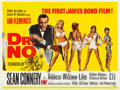 "Movie Posters:James Bond, Dr. No (United Artists, 1962). British Quad (30"" X 40"") MitchellHooks and David Chaseman Artwork.. ..."
