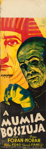 "Movie Posters:Horror, The Mummy's Hand (Universal, 1940). Hungarian (12"" X 37.5"").. ..."