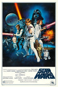 "Movie Posters:Science Fiction, Star Wars (20th Century Fox, 1977). International One Sheet (27"" X41"") Style C, Tom Chantrell Artwork.. ..."