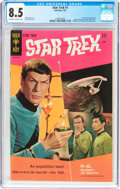 Silver Age (1956-1969):Science Fiction, Star Trek #1 (Gold Key, 1967) CGC VF+ 8.5 Off-white to whitepages....