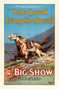 "Movie Posters:Western, The Big Show (Associated Exhibitors, 1926). One Sheet (27"" X 41"")Style B.. ..."